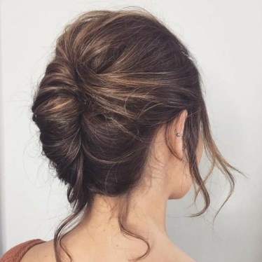 Casual Christmas Updos Ideas21