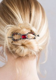 Casual Christmas Updos Ideas23