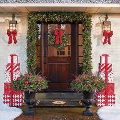 Casual Winter Themed Christmas Decorations Ideas05