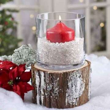 Casual Winter Themed Christmas Decorations Ideas25