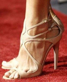 Charming Christmas Heels Ideas For Cute Women05