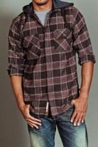 Cozy Plaid Shirt Outfit Christmas Ideas For Handsome Mens02