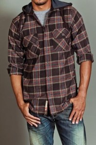 Cozy Plaid Shirt Outfit Christmas Ideas For Handsome Mens02