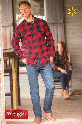 Cozy Plaid Shirt Outfit Christmas Ideas For Handsome Mens24