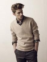 Cozy Plaid Shirt Outfit Christmas Ideas For Handsome Mens43