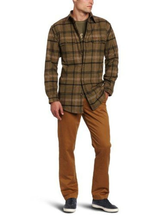 Cozy Plaid Shirt Outfit Christmas Ideas For Handsome Mens47