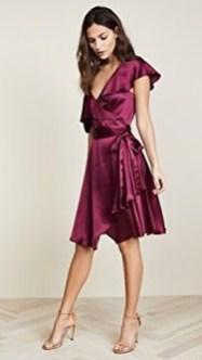 Cute Diy Wrap Mini Dress Ideas For Christmas Party03