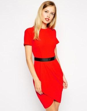 Cute Diy Wrap Mini Dress Ideas For Christmas Party18