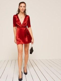Cute Diy Wrap Mini Dress Ideas For Christmas Party45