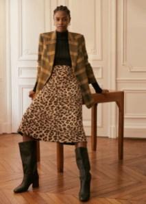 Elegant Midi Skirt Winter Ideas05