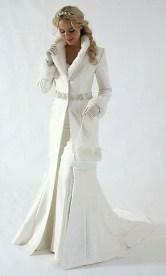 Fabulous Winter Wonderland Wedding Dresses Ideas31