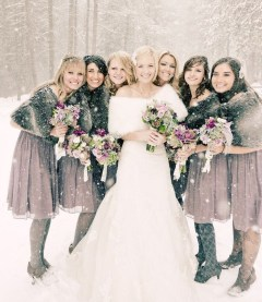 Fabulous Winter Wonderland Wedding Dresses Ideas32