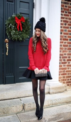 Incredible Holiday Style Christmas Outfit Ideas24