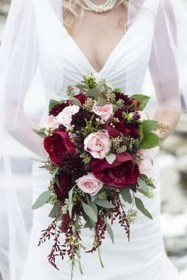 Modern Rustic Winter Wedding Flowers Ideas01