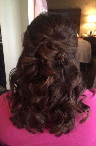 Popular Christmas Half Updos Ideas15