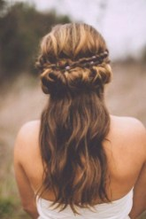 Popular Christmas Half Updos Ideas19