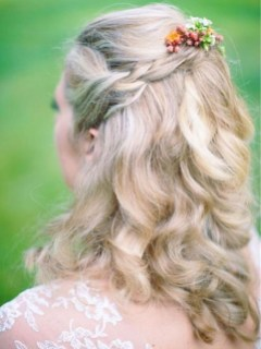 Popular Christmas Half Updos Ideas27