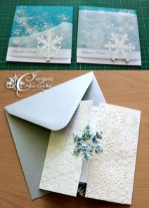 Popular Winter Wonderland Wedding Invitations Ideas04