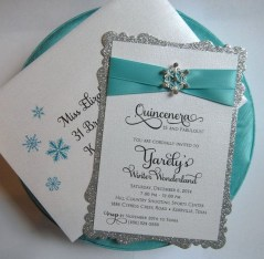 Popular Winter Wonderland Wedding Invitations Ideas20