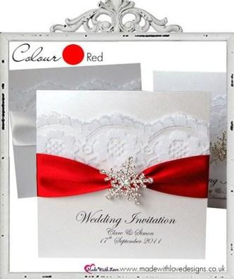Popular Winter Wonderland Wedding Invitations Ideas30