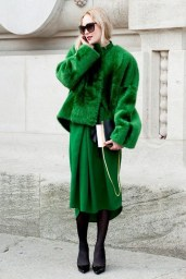 Stylish Emerald Coats Ideas For Winter02