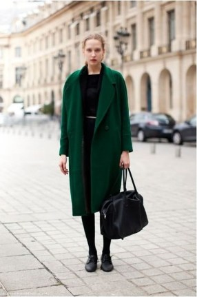 Stylish Emerald Coats Ideas For Winter41