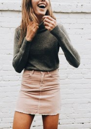 Affordable Winter Skirts Ideas With Tights30