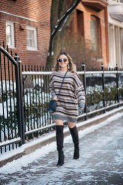 Amazing Winter Dresses Ideas With Boots05
