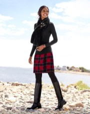 Amazing Winter Dresses Ideas With Boots17