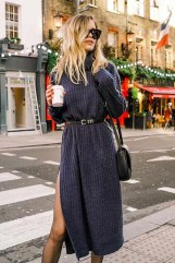 Amazing Winter Dresses Ideas With Boots30