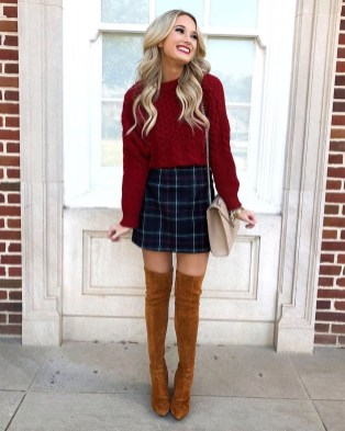 Amazing Winter Dresses Ideas With Boots39