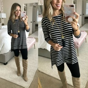 Awesome Winter Dress Outfits Ideas With Boots31