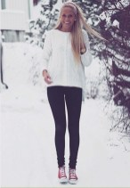 Best Winter Outfits Ideas With Leggings02