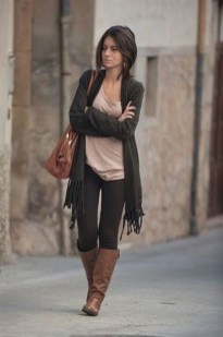 Best Winter Outfits Ideas With Leggings03