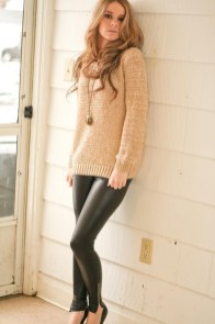 Best Winter Outfits Ideas With Leggings31