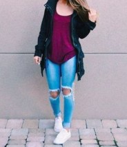 Classy Winter Outfits Ideas For School15