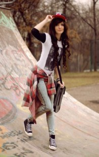 Extraordinary Winter Clothes Ideas For Teenage Girl12