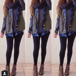 Extraordinary Winter Clothes Ideas For Teenage Girl14