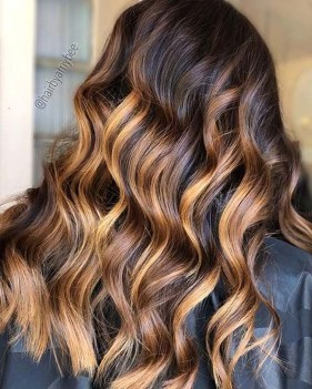 Fashionable Hair Color Ideas For Winter 201907