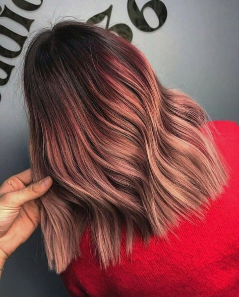 Fashionable Hair Color Ideas For Winter 201941