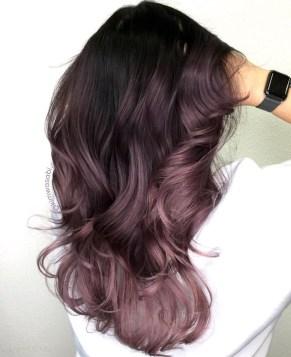 Fashionable Winter Hair Color Ideas37