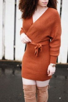 Flawless Winter Dress Outfits Ideas44