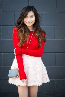 Inpiring Outfits Ideas For Valentines Day47