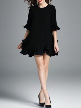 Perfect Black Mini Little Dress Ideas For Valentines Day15