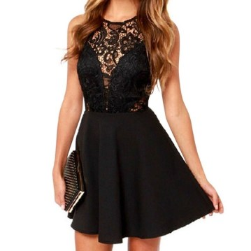 Perfect Black Mini Little Dress Ideas For Valentines Day24