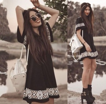 Perfect Black Mini Little Dress Ideas For Valentines Day45