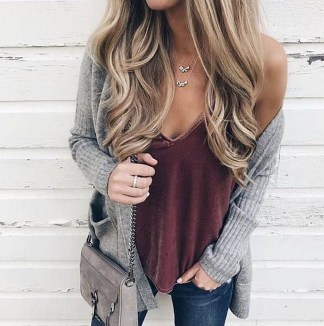 Simple Winter Outfits Ideas For School11