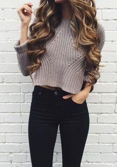 Simple Winter Outfits Ideas For School12