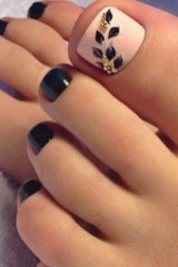 Stunning Toe Nail Designs Ideas For Winter09