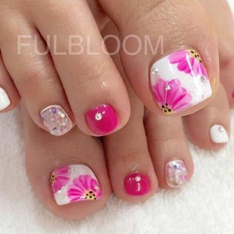 Stunning Toe Nail Designs Ideas For Winter25